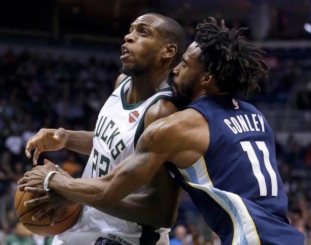 Mike Conley, Khris Middleton